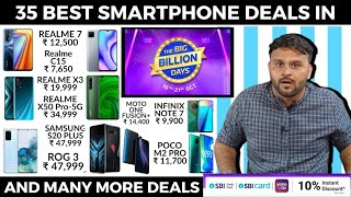35 BEST SMARTPHONE DEALS IN FLIPKART BIG BILLION DAYS SALE  FLIPKART BIG BILLION DAYS SALE
