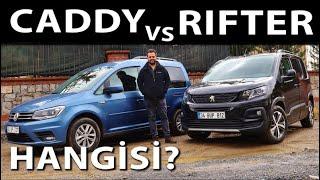 Peugeot Rifter vs VW Caddy - Hangisi?