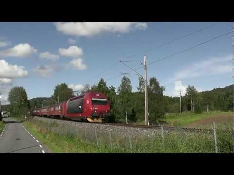 Trainspotting 2011 - Dag 12 - Larvik /Eidanger/Oklungen/Skien