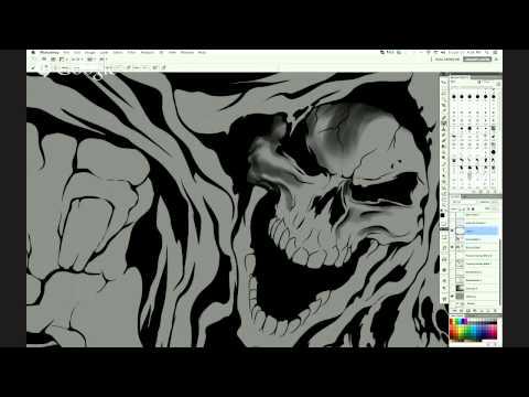 Sesion Pro II Ilustracion profesional con Gerald Mendez