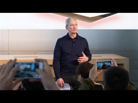Apple Chief Executive's Asia Visit