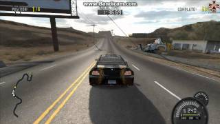 Need For Speed Pro Street - Mitsubishi Lancer EVO IX Speed Challange Driving