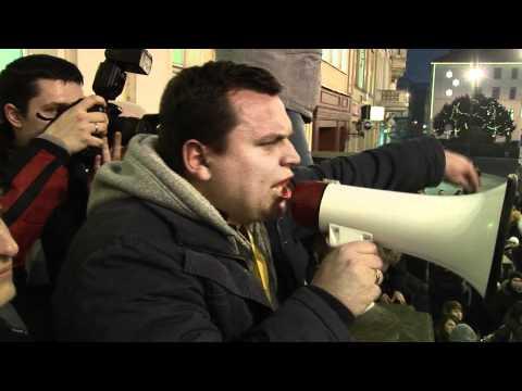 ACTA Bydgoszcz - Sprzeciw Obywateli Wobec ACTA - Demonstracja W Bydgoszczy - Manifestacja ACTA