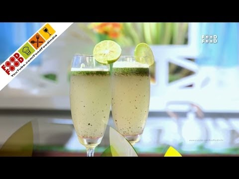 Mint Quick Lime Mojito | Food Food India - Fat To Fit | Healthy Recipes