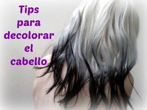 Tips para decolorar el cabello y no fallar en el intento :D