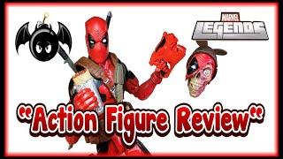 Marvel Legends 12 inch Deadpool action figure review.