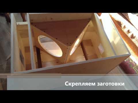 самодельная акустическая система (homemade speaker system)