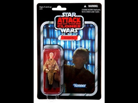 Hasbro Star Wars Vintage Collection Jocasta Nu HD Action Figure Review | www.flyguy.net