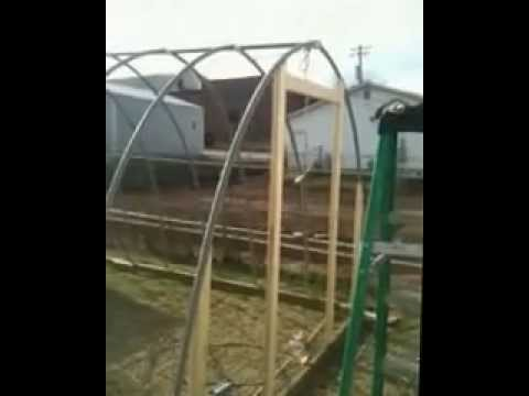 How To Make A Pvc Greenhouse Cheap Youtube