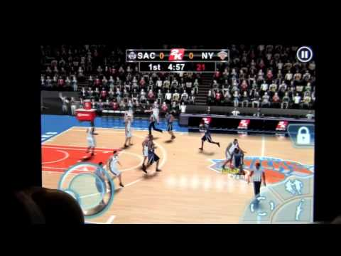 NBA 2K12 for iPhone App Review - CrazyMikesapps