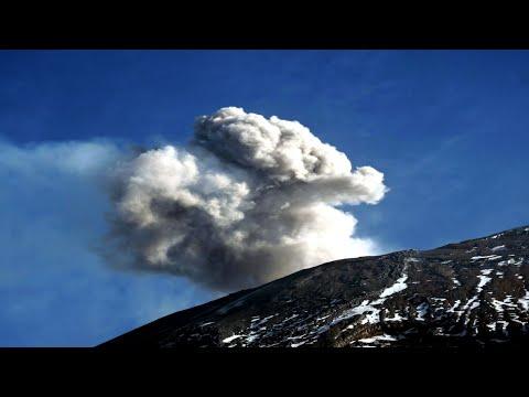 Popocatepetl volcano - summit / Na szczycie Popocatepetl w Meksyku