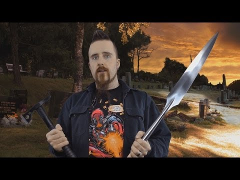 The best blade weapon for a zombie apocalypse?