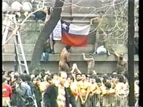 Spencer Tunick en Chile 30 de Junio de 2002