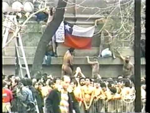 Spencer Tunick en Chile 30 de Junio de 2002