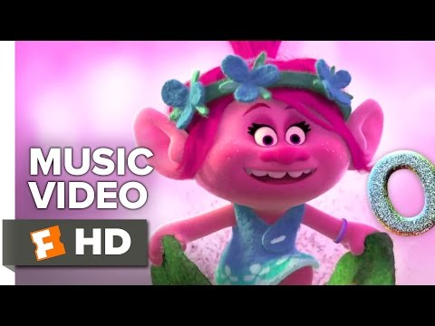 "Trolls - Anna Kendrick Music Video - ""get Back Up Again"" (2016)"