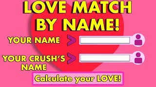 ARE YOU AND YOUR CRUSH MEANT FOR EACH OTHER? Love Personality Test