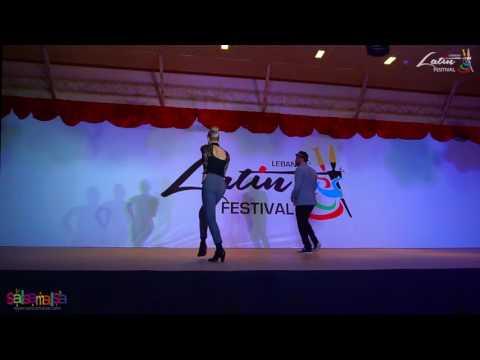 Nina & Zerjon Show | Lebanon Latin Festival 2016