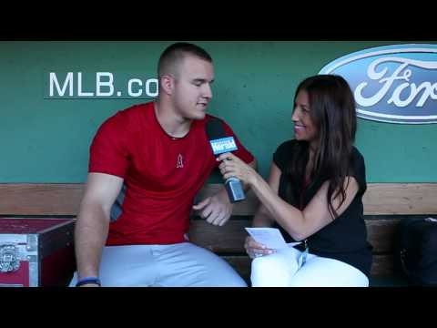 Angels' Mike Trout is guest on this week's