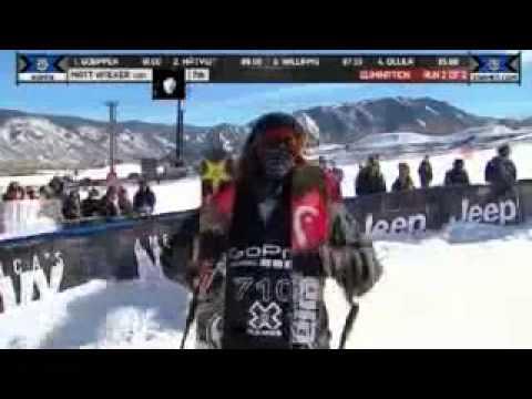 Hannah Kearney 360 flip Zermatt Switzerland Avalanche