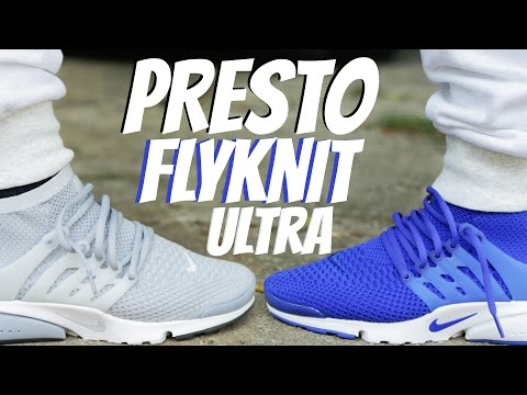 Nike Air Presto Flyknit Ultra w/ On Foot Review