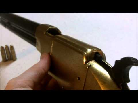 Denix Volcanic Repeating Pistol Non-firing Replica Gun - Red Dead Redemption