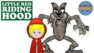 Little Red Riding Hood - Children's Songs with Animation