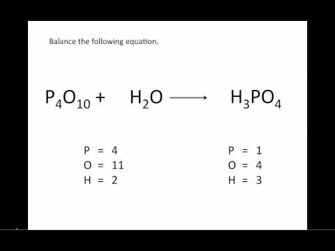 Balancing Chemical Equations: UPDATED - Chemistry Tutorial