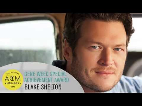 2013 ACM Honors - Blake Shelton - ACM Gene Weed Special Achievement Award