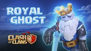 His Haunted Highness! Royal Ghost Gameplay | Clash of Clans Clash-O-Ween 2019