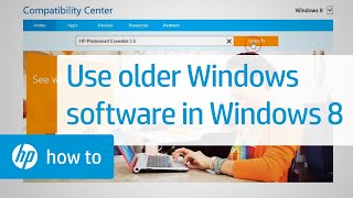 Making Software for Older Versions of Windows Work in Windows 8