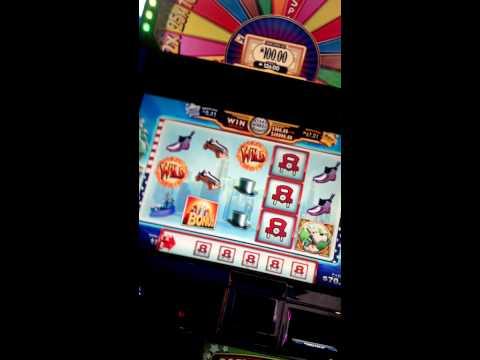 Super Monopoly Money Wheel Slot Machine $100 Spin