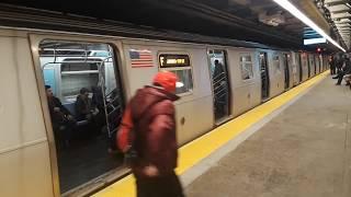 R160A-1 M & R160A-2 F Local Trains @ 23rd Street: Part 1
