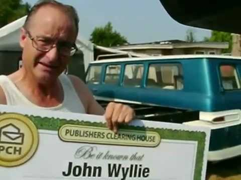 """Publishers Clearing House August 31st, 2012 """"Forever"""" Prize Winner"""