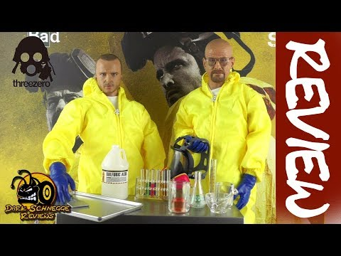 ✤Threezero✤ BREAKING BAD│ HAZMAT SUIT Heisenberg & Jesse Pinkman Review [GERMAN/DEUTSCH]