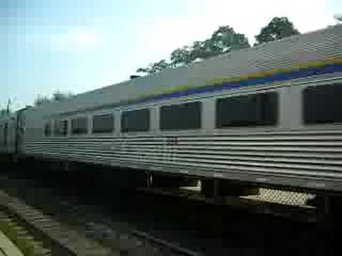 VIA Rail Train 60 Passing Rouge Hill Video