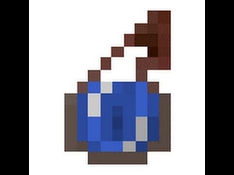 Minecraft water bottle recipe