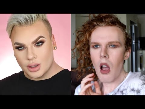 MALE TRIES FOLLOWING A MICHAEL FINCH MAKE UP TUTORIAL!!!