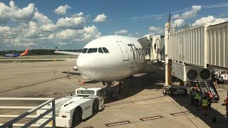 Thomas Cook A330 Economy Class Full Flight Manchester to Orlando