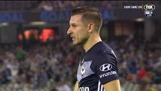 Hyundai A-League 2018/19 Round 22: Melbourne Victory 2 - 1 Brisbane Roar