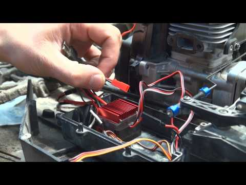 Burnout RC - Losi 5ive T (5T) FID Racing Electric Starter S Version Install Explained!!!
