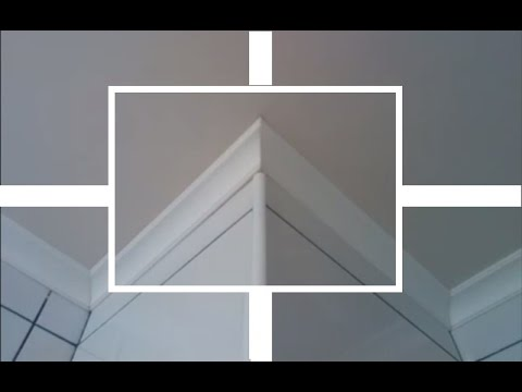 Как сделать углы на потолочном плинтусе из пвх