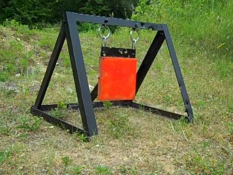 How To Make A Swinging Steel Target (no Welding ) How To Save Money And