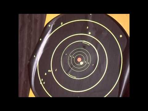 Black ops .177 sniper pellet rifle accuracy test.