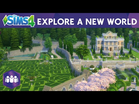 The Sims 4 Get Together: Explore A New World Official Trailer