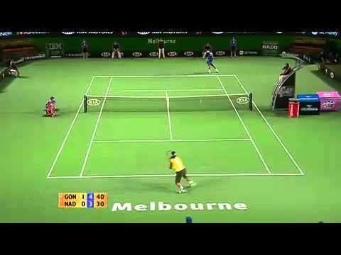 全米オープン 2008 Semi-決勝戦(ファイナル)  フェデラー vs ジョコビッチ ハイライト Part 1/2 (HD)