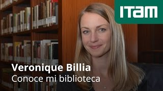 Conoce mi biblioteca, Veronique Billia