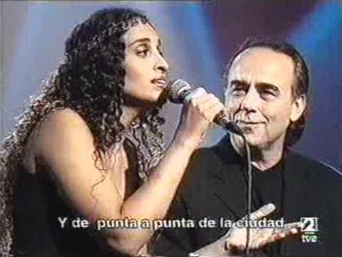 Noa (Achinoam Nini)&JM Serrat - Que va a ser de ti (TVE - Septimo) 2000