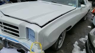 Monte Carlo/ car restoration continues.