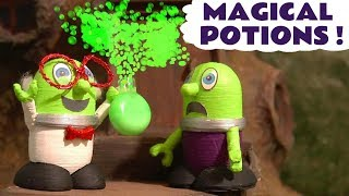 Funny Funlings Magical Potions magic toy story with NEW Professor Funling TT4U