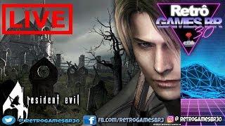 LIVE Resident Evil 4 #3 - Atrás de Ti Imbecil! #Rumo3K